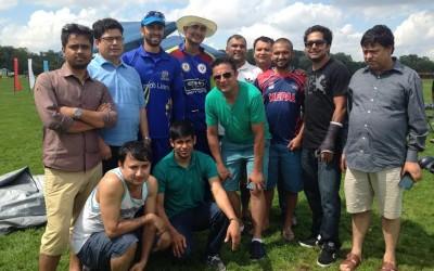 Nepali Cricket Supporter